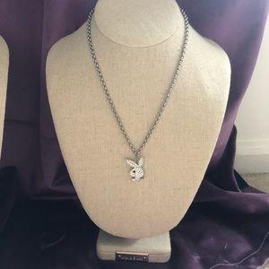 Fashion Playboy Bunny Pendant Necklace